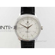 Cellini 50509 MK V3 Best Edition SS White Sticks Dial on Black Leather Strap A3132 - InTimeWatch