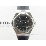 Overseas SS/Ti JJF 1:1 Best Edition Gray dial on Rubber strap MIYOTA 9015 - InTimeWatch